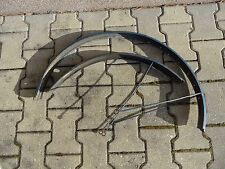 alte Satz Schutzblech aus Aluminium für 28 Zoll Damenrad