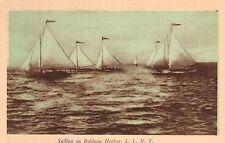 Baldwin,Long Island,New York,Sailing on Baldwin Harbor,Nassau Co.c.1930s