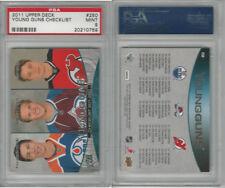 2011 Upper Deck Hockey, #250 Young Guns Checklist, PSA 9 Mint