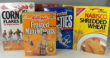 7 Cereal Boxes Collectible Sports Kelloggs General Mills Nabisco 2 Full 5 Empty