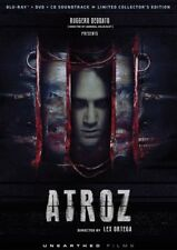 Atroz Blu Ray, DVD & OST CD Unearthed Films Lex Ortega Mexican horror uncut