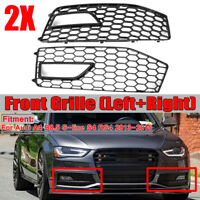 For AUDI A4 B8.5 S Line S4 2013-2015 Front Fog light Lamp Grill Cover  */!