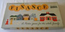 Vintage Parker Brothers Finance Board Game 1962 Business Trading Game Family
