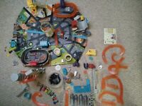 LOT Hot Wheels Atomix Micro City PlaySets and Cars