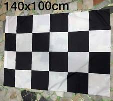 1 bandiera scacchi bianconera neutra ascoli udinese juventus 140x100cm Flag