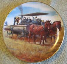 1990 Danbury Mint~Water Wagon~Emmett Kaye~Farming The Heartland Collection