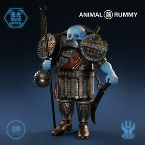 Unbox GOG ANIMAL RUMMY 11.5inch Vinyl Collection Figures