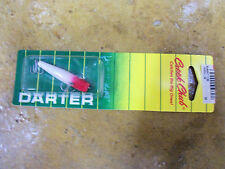 Creek Chub Darter I9000ULPRW Red/White!!  Ultra Light!  Made in North America!