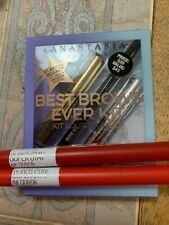 Make Up lot Brand Anastasia Best Brows Kit & 2 Maybelline Ink Crayon Lipstick