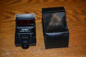 Mint Minolta 2800 AF Hot Shoe Flash for Maxxum 5000/7000/9000 Camera Tested!