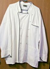 Edwards Chef's Jacket White size 5Xl Long Sleeve Cotton
