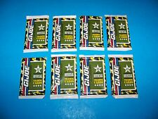 "G.I. Joe Official Trading Cards (8 packs) Vintage 1991/92 ""A Real American Hero"""