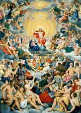"""perfect 24x36 oil painting handpainted on canvas""""All Saints' Day""""@11190"""