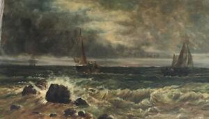 "original oil painting signed  ""Heart Of The Sea""-  Coastal Scene"