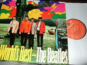 THE BEATLES : THE WORLDS BEST ORIGINAL CLUB LP S*R 77235 GERMANY
