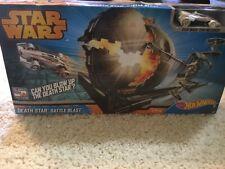 Disney Hot Wheels Star Wars Death Star Battle Blast Track Set - Sealed & New