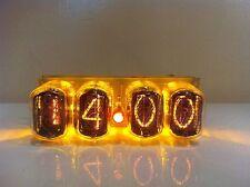 Nixie tube clock in-12 YELLOW