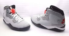 Nike Air Jordan Spike Forty PE Basketball Sneakers White Red Mens Size 9 NEW!