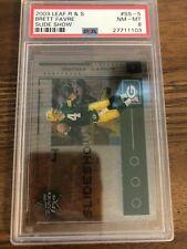 2003 leaf rookie stars slideshow Brett Favre /1500 psA