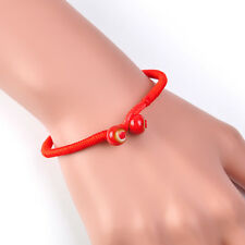 Men Women Lucky Bracelets Bead Red String Ceramic Bracelets Handmade Jewelry