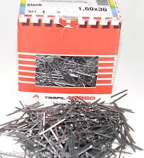 Drahtstifte gestaucht blank  1,6 mm x 30 mm Nägel Senkkopf Stahl Blank 1 kg