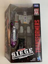 Hasbro Transformers War For Cybertron Siege- Megatron NIB