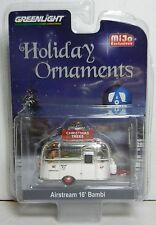 1:64 GreenLight *CHROME* Airstream 16' Bambi Camper *CHRISTMAS TRESS* ORNAMEMTS