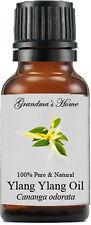 Ylang Ylang Essential Oil - 15 mL - 100% Pure and Natural - Free Shipping