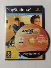 Pro evolution soccer 6 PS2 PAL España