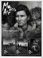 Palau 2014 MNH Modern Art 3v M/S II Photography Dorothea Lange Lewis Hine