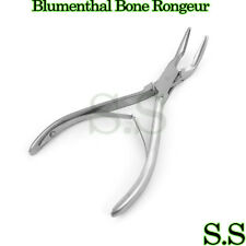 """1 Piece Of Blumenthal Bone Rongeur 45 Degree 5.5"""" Surgical Dental Instruments"""