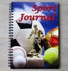 Sport Journal - A5 Wire Bound Book to Record Detail of your Sports Matches/Games