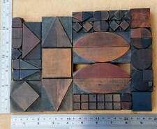 letterpress wood printing blocks ornaments decorative borders vintage geometric