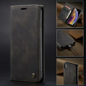 CaseMe PU Leather Wallet Purse Phone Case For iPhone 11 Pro X XS Max XR X 6 7 8