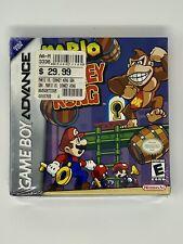 SEALED Mario vs. Donkey Kong (Nintendo Game Boy Advance) GBA H-SEAM Ultra Rare