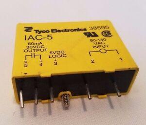 Tyco Electronics IAC-5 IAC5 I/O Module Relay 38595