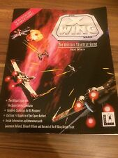 Star Wars X-wing PC Game Manual - The Official Strategy Guide Rusel DeMaria