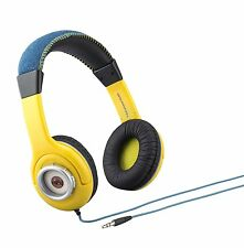 Despicable Me One in a Minion Headphones NEW Yellow with eyeball