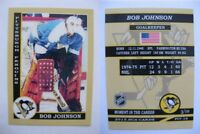 2015 SCA Bob Johnson Pittsburgh Penguins goalie never issued produced #d/10