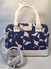 Kate Spade Handbag Wellesley Leaves Fabric Small Rachelle Hycnleaves