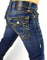 True Religion $299 Men's Rocco Relaxed Skinny Super T Brand Jeans - 101773