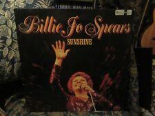 """Billie Jo Spears, """"Sunshine"""" (Rare UK vinyl LP)"""