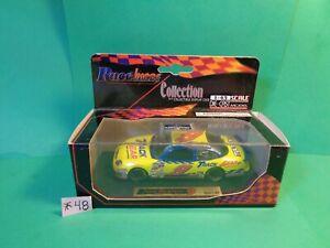 Race Image Die Cast Car, 1/43 Scale, Jeff Burton, #9 Track Gear/Ford Taurus(New)