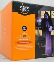 Halloween Gemmy 12' 12 ft Flickering Short Circuit Reaper Airblown Inflatable
