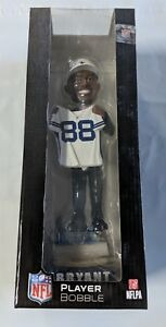 Dez Bryant #88 Draft Day Bobblehead Bobble Dallas Cowboys White Jersey #/504