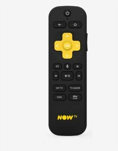 NOW TV SMART WI-FI REMOTE WITH VOICE CONTROL - NEW - FREE NEXT DAY DELIVERY!