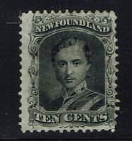Newfoundland SG# 27, Mint Hinged, Hinge Rem, Most Original Gum 70% +  Lot 031416