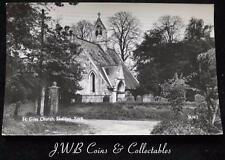 Old Postcard of St Giles Church, Skelton, York