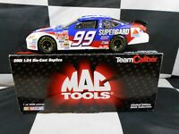 JEFF BURTON #99 CITGO MAC TOOLS 1/24 TEAM CALIBER 2001 NASCAR DIECAST 1 OF 3000
