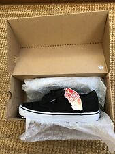 VANS ATWOOD LOW CANVAS SKATEBOARDING SHOES BLACK TRAINERS SIZE 5.5 UK BNIB✨🏁